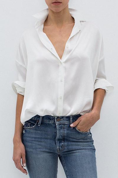 Inspiration sidenskjorta
