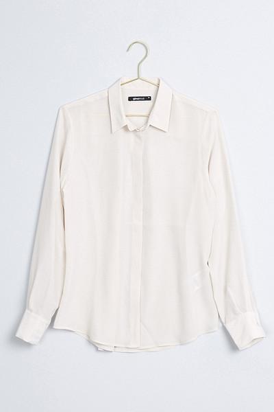 Gina Tricot sidenskjorta Elina