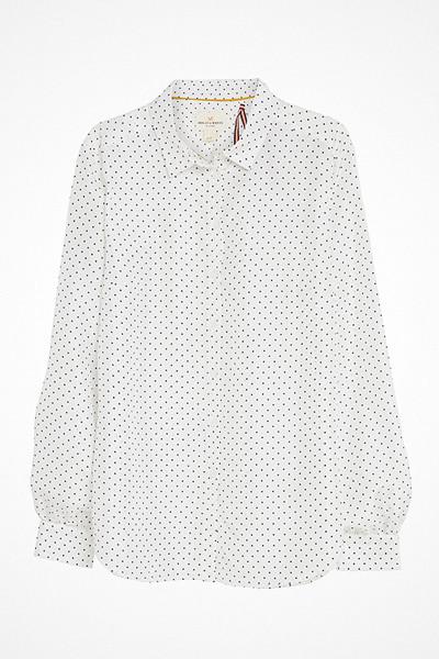 Lindex prickig sidenskjorta