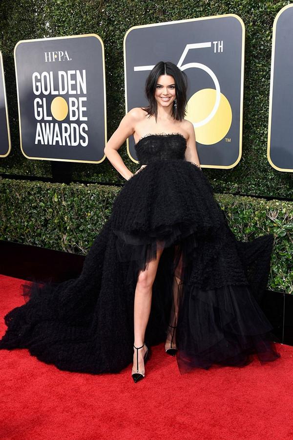 Kendall Jenner på Golden Globes
