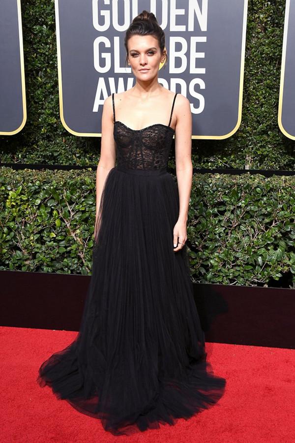 Frankie Shaw på Golden Globes
