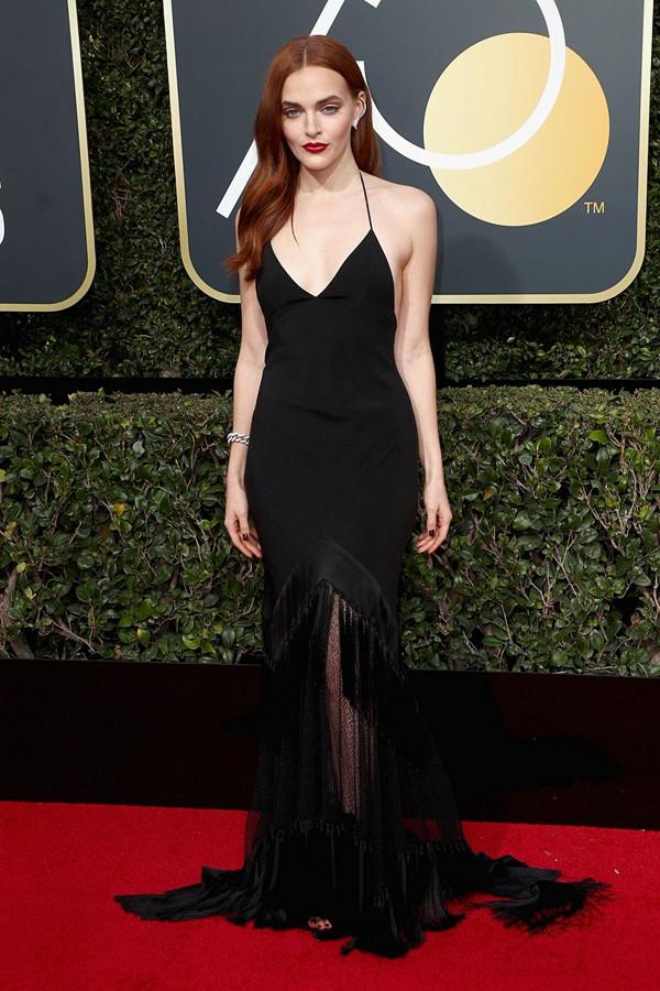 Madeline Brewer på Golden Globes