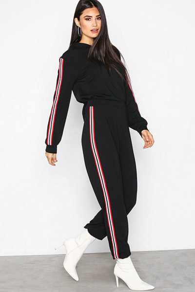 NLY Trend Striped Hoodie set
