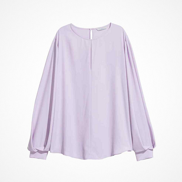 H&M lila blus