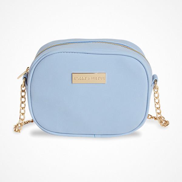 Lindex blå axelremsväska från Holly & White