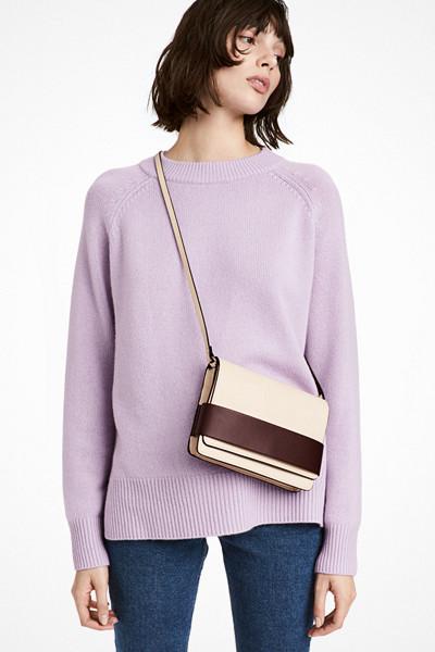 H&M pastellila tröja