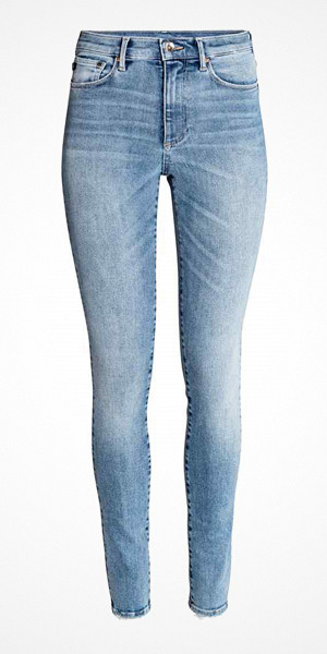H&M skinny jeans med normalhög midja