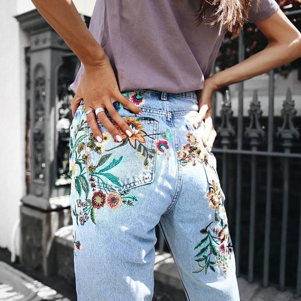 Inspiration dekorativa jeans