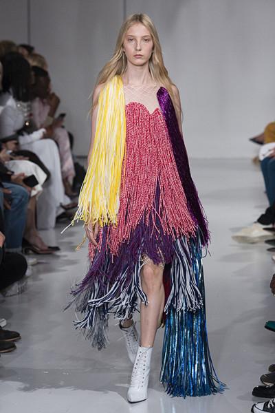 Inspiration fransar Calvin Klein SS18