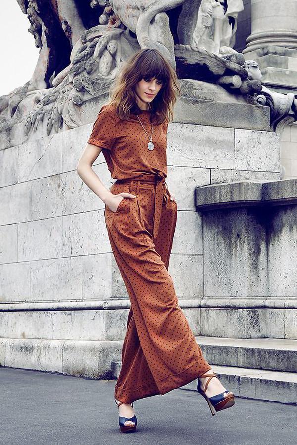 Inspiration prickig klänning