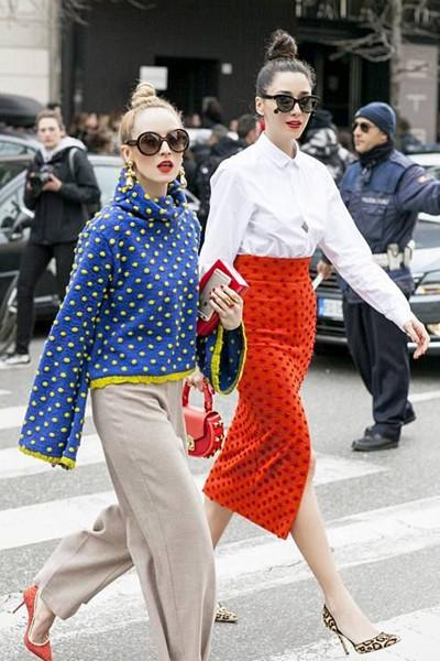 Inspiration prickigt mode
