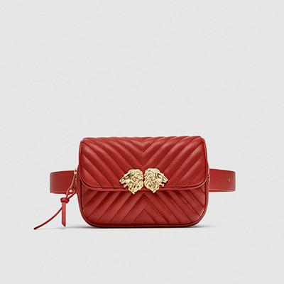 Zara röd midjeväska med lejon