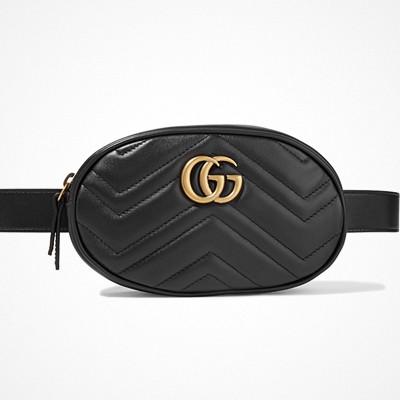 Gucci svart midjeväska Marmont