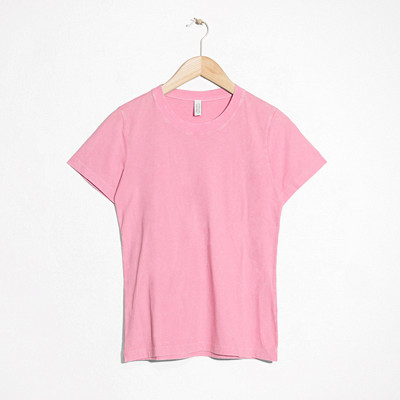 & Other Stories rosa t-shirt i bomull