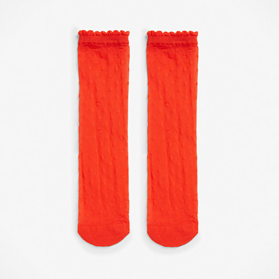 Monki röda strumpor