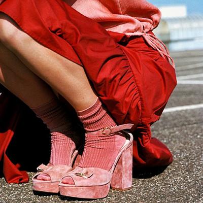 Inspiration rosa och rött
