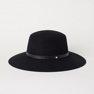 H&M svart hatt
