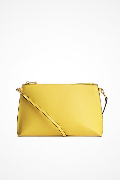 H&M gul handväska