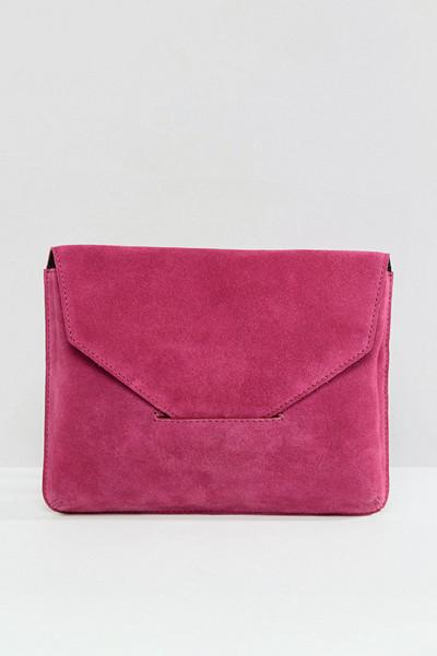 ASOS rosa kuvertväska