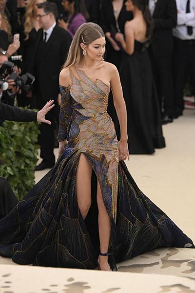 Gigi Hadid på The Met Gala 2018