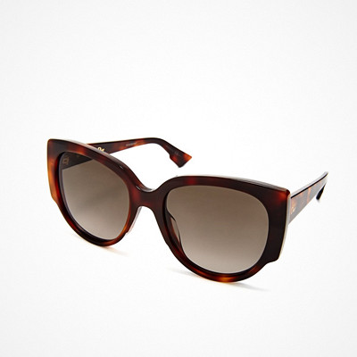 Dior bruna spräckliga solglasögon