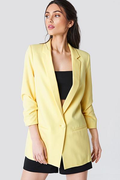 Trendyol gul oversized blazer