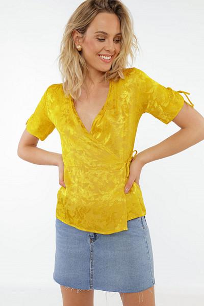 Chiquelle gul blus