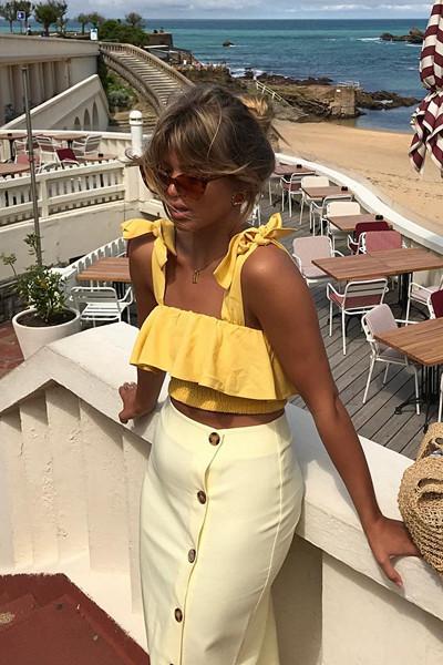 Inspiration gult på gult Matilda Djerf