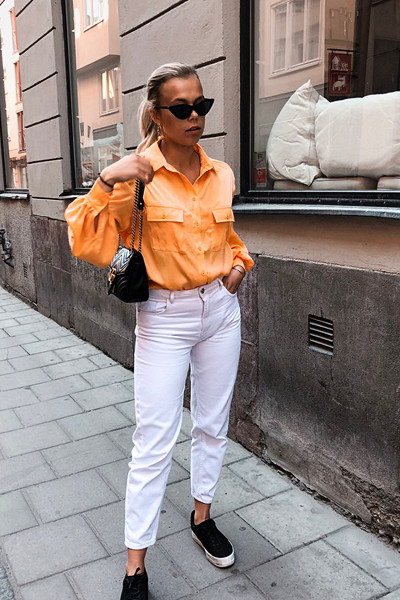 Inspiration orange topp Andrea Hedenstedt