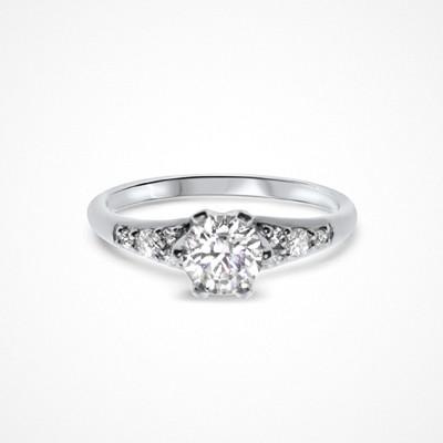 Molly Rustas Heirlooms Guiding Lights ring i silver