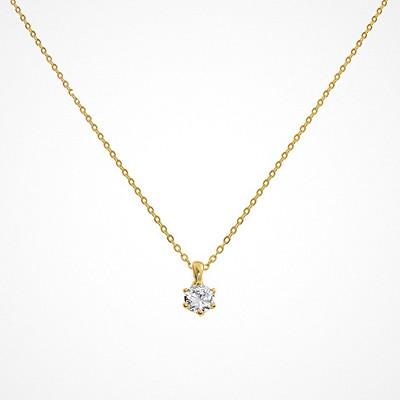 Molly Rustas Heirlooms Guiding Light halsband i guld