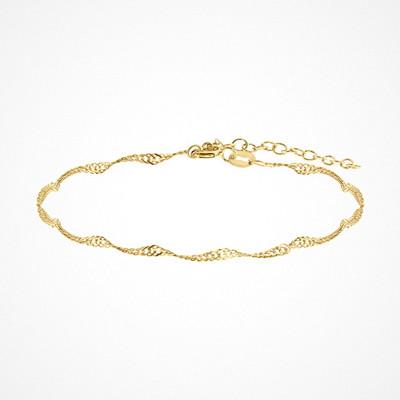 Molly Rustas Heirlooms Love Twist armband i guld