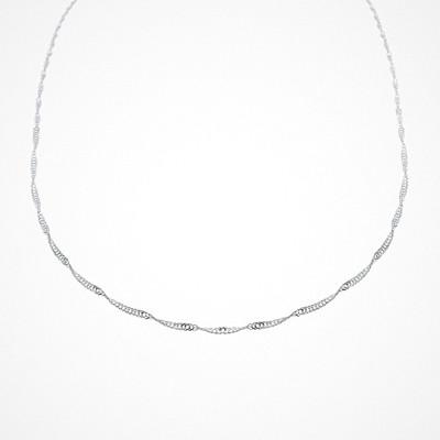 Molly Rustas Heirlooms Love Twist halsband i silver
