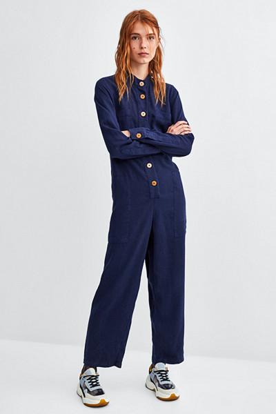 Zara blå jumpsuit
