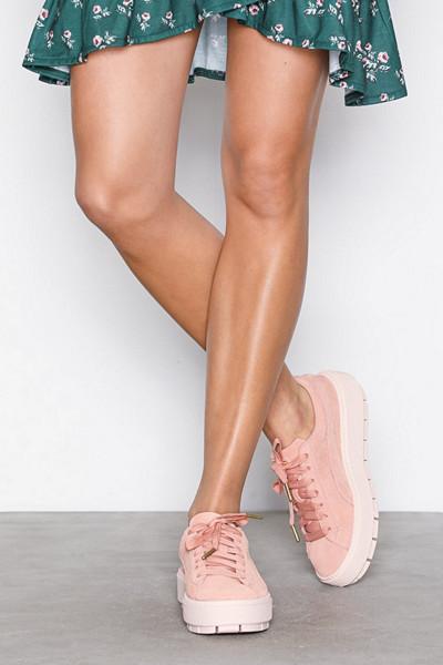 Puma rosa platå-sneakers