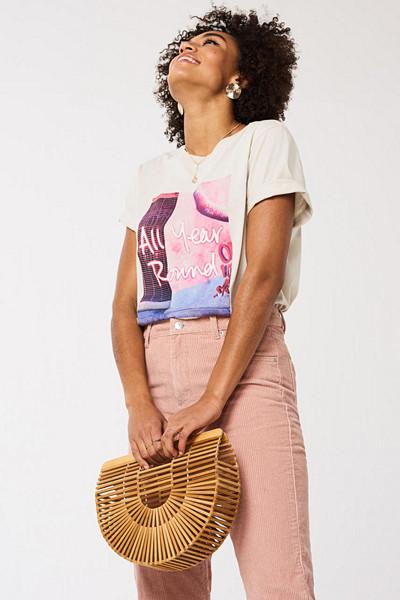 Gina Tricot t-shirt Ellie