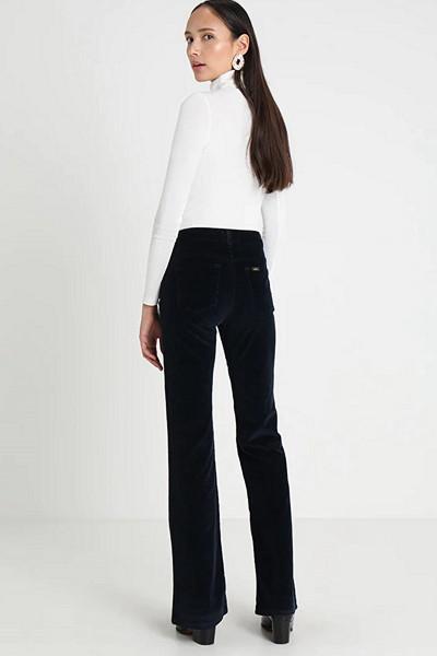 LOIS Jeans svarta manchesterbyxor