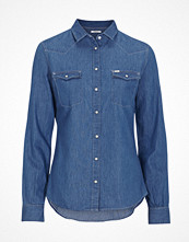 Lee Denimskjorta Slim Western