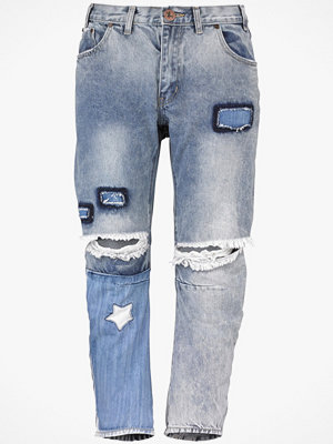 One Teaspoon Jeans St Marine Saints, boyfriend fit