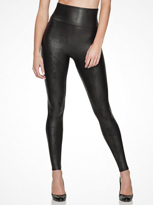 Leggings & tights - Spanx Leggings Läderlook