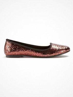 Ellos Ballerinasko med glittereffekt