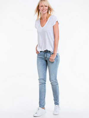 Jeans - One Teaspoon Jeans Blue Fox Hoodlums, slim fit