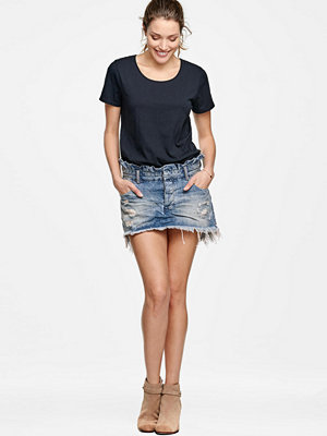 One Teaspoon Jeanskjol Le Cult Mini Skirt, slim fit