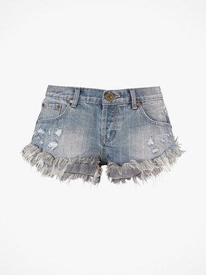 Shorts & kortbyxor - One Teaspoon Jeansshorts Valentine Bonitas, slim fit