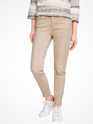 Esprit Jeans med dragkedja i benslut