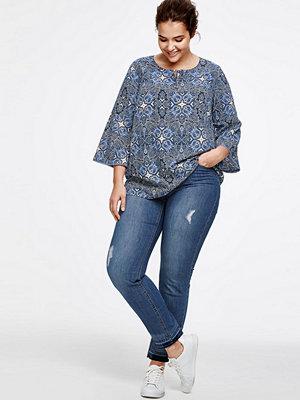 Ellos Slitna jeans, beninnerlängd 72 cm