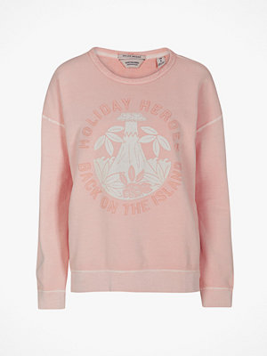 Maison Scotch Sweatshirt med applikationer