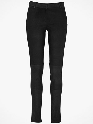 Second Female Läderleggings Brave, slim fit
