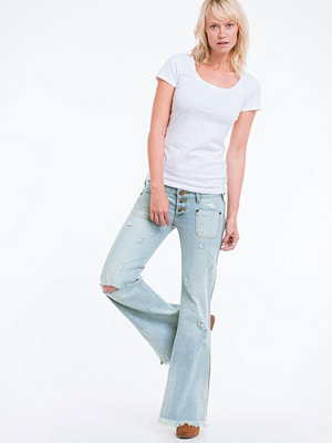 One Teaspoon Jeans Florence le cats, flare slim fit