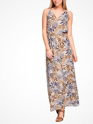 Esprit Maxiklänning i mönstrad chiffong